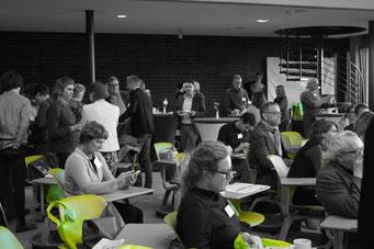 Arena der Sozialpioniere beim Social Talk 2018 © Sabine Schlitt, EKKW