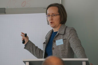 Dr. Kathrin Voss  | Social Talk 2016 © Sabine Schlitt, EKKW