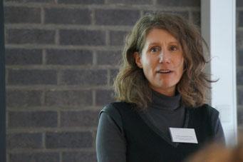 Valeria Berghoff-Flüel (Gemeinnützige Common Purpose Deutschland GmbH) beim Social Talk 2018 © Sabine Schlitt, EKKW