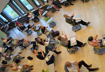 II. Hessischer Engagementkongress 2021 an der Ev. Hochschule Darmstadt.   © Foto: S. Schlitt, EKKW