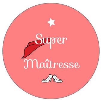 Super Maîtresse badge miroir magnet décapsuleur