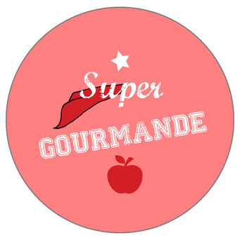 Badge super gourmande