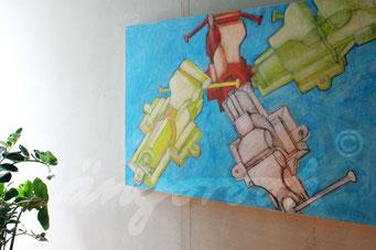 """anstoß"" / Detail 2 / 2015 / Carla Graupe"