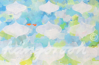 """strömung"" / Detail 1 / 2016 / Carla Graupe"