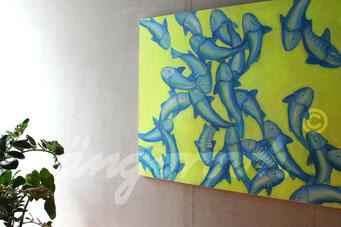 """urfa in yellow"" / Detail 2 / 2015 / Carla Graupe"