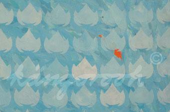 """flowerfish"" / Detail 1 / 2016 / Carla Graupe"