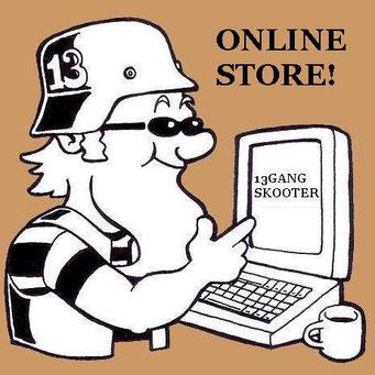 13GANG SKOOTER・オンラインストア