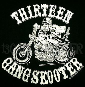 Pan Chopper Biker Tee/パンチョッパーバイカーTシャツ