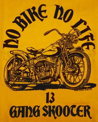 WL BOBBER MACHINE Tee(Yellow)/WLボバー イエローTシャツ