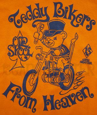 Teddy Bikers From Heaven Tee/テディバイカーTシャツ