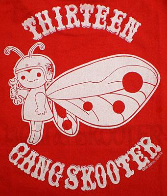 Motorcycle Fairy イタリアンレッド Tシャツ