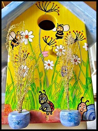 Houten Nestkastje voor Pindakaas pot , Nestkastje, thema, Vogelhuisje bouwen, vogelhuisje pindakaas pot_20