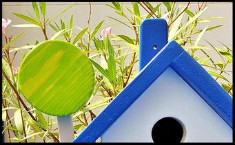 Houten Nestkastje voor Pindakaas pot , Nestkastje, thema, Grieks stijl Vogelhuisje bouwen, vogelhuisje pindakaas pot, huisje Grieks stijl_5