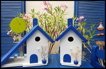 Houten Nestkastje voor Pindakaas pot , Nestkastje, thema, Grieks stijl Vogelhuisje bouwen, vogelhuisje pindakaas pot, huisje Grieks stijl_7