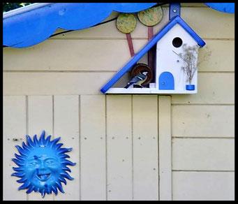 Houten Nestkastje voor Pindakaas pot , Nestkastje, thema, Grieks stijl Vogelhuisje bouwen, vogelhuisje pindakaas pot, huisje Grieks stijl_37