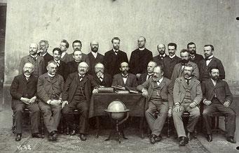 mit Professoren der Realschule in Pilsen