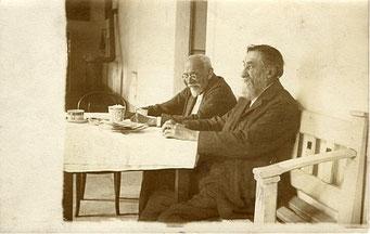 mit August Sedlaček