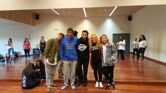 Organización Masterclass Madrid-Parla 2015