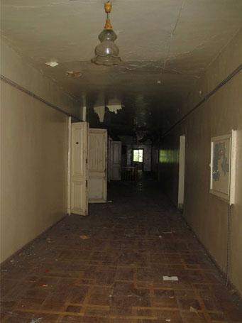 Второй этаж усадьбы Петровское.