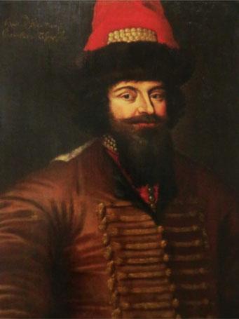 Петр Семенович Прозоровский, стольник при царе Михаиле Федоровиче. Имя же автора неизвестно