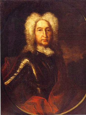 Иван Алексеевич Голицын, портрет кисти Андрея Матвеева, 1728 год