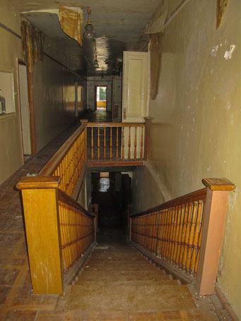 Лестница на второй этаж. Усадьба Петровское.