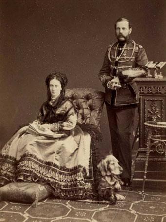 Император Александр II и императрица Мария Александровна