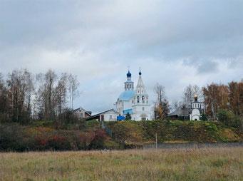 Храм Успения Пресвятой Богородицы, является интересным памятником архитектуры стиля петровского барокко