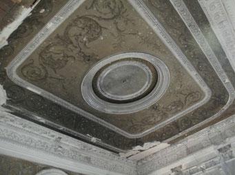 Реставрационные работы в усадьбе Николо-Урюпино.