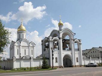 Храм во имя Спаса Нерукотворного Образа в селе Усово