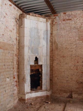 Подготовка усадьбы Николо-Урюпино к реставрации.