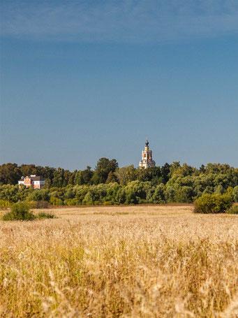 Уборы, Спасская церковь