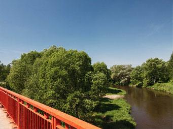 Сельское поселение Петрово-Дальнее расположено на северном берегу реки Москвы, на западной окраине — устье реки Истры, на восточной окраине — речка Липка.