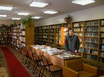 Библиотека санатория Сосны