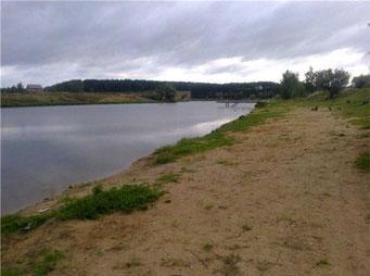 Пляж Петрово- Дальнее.