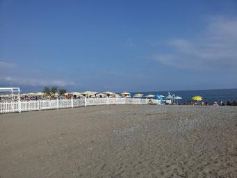 spiaggia policastro a 350 m.