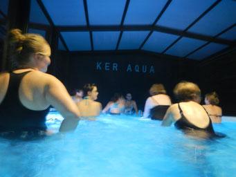 aquabike nocturne rennes piscine