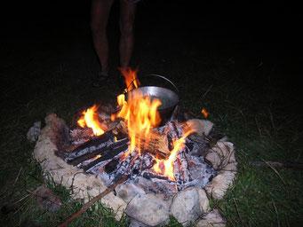 frisch vom Feuer