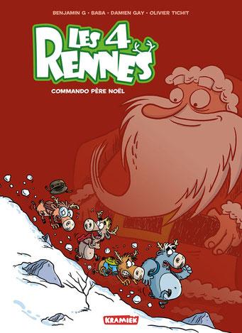 Les 4 Rennes - tome 1 - couverture