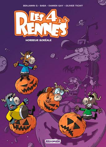 Les 4 Rennes - tome 2 - couverture