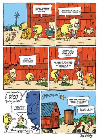 Le Gang des Duveteux - page 2
