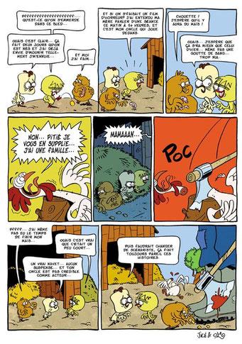 Le Gang des Duveteux - page 1