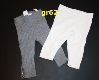 Art.1.19.32 gr 62 H&M,  grau wie Strumpghose, weisse dünn,  2chf