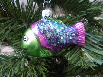 Weihnachtsschmuck aus Tschechien - Fisch