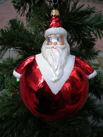 Weihnachtsschmuck aus Tschechien - St.Nikolaus