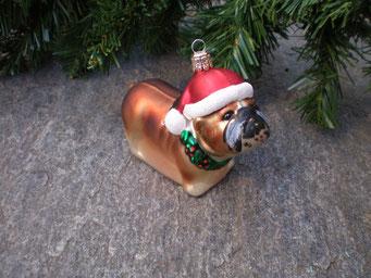 Weihnachtsschmuck aus Tschechien - Boxer