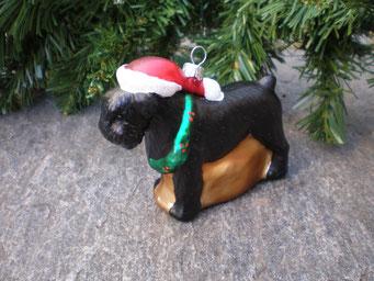 Weihnachtsschmuck aus Tschechien - Schnauzer