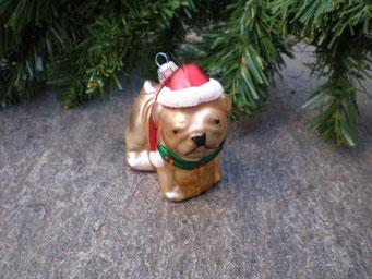 Weihnachtsschmuck aus Tschechien - Mops