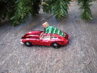 Weihnachtsschmuck aus Tschechien - Porsche