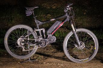 bafang electric mountain bike battery